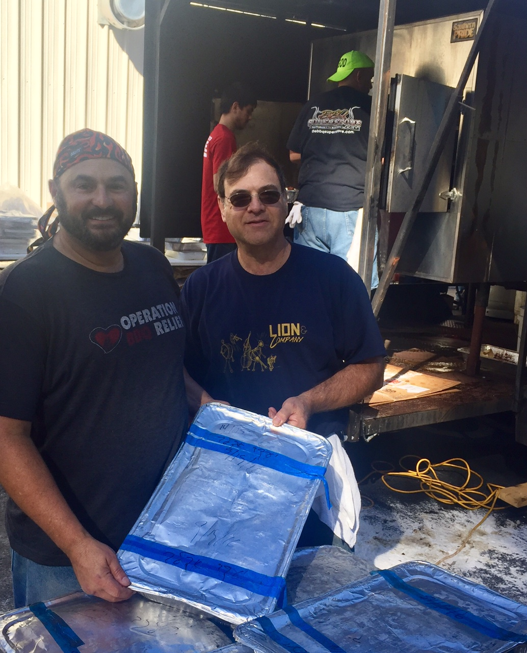 Brisket Donation to Operation BBQ Relief