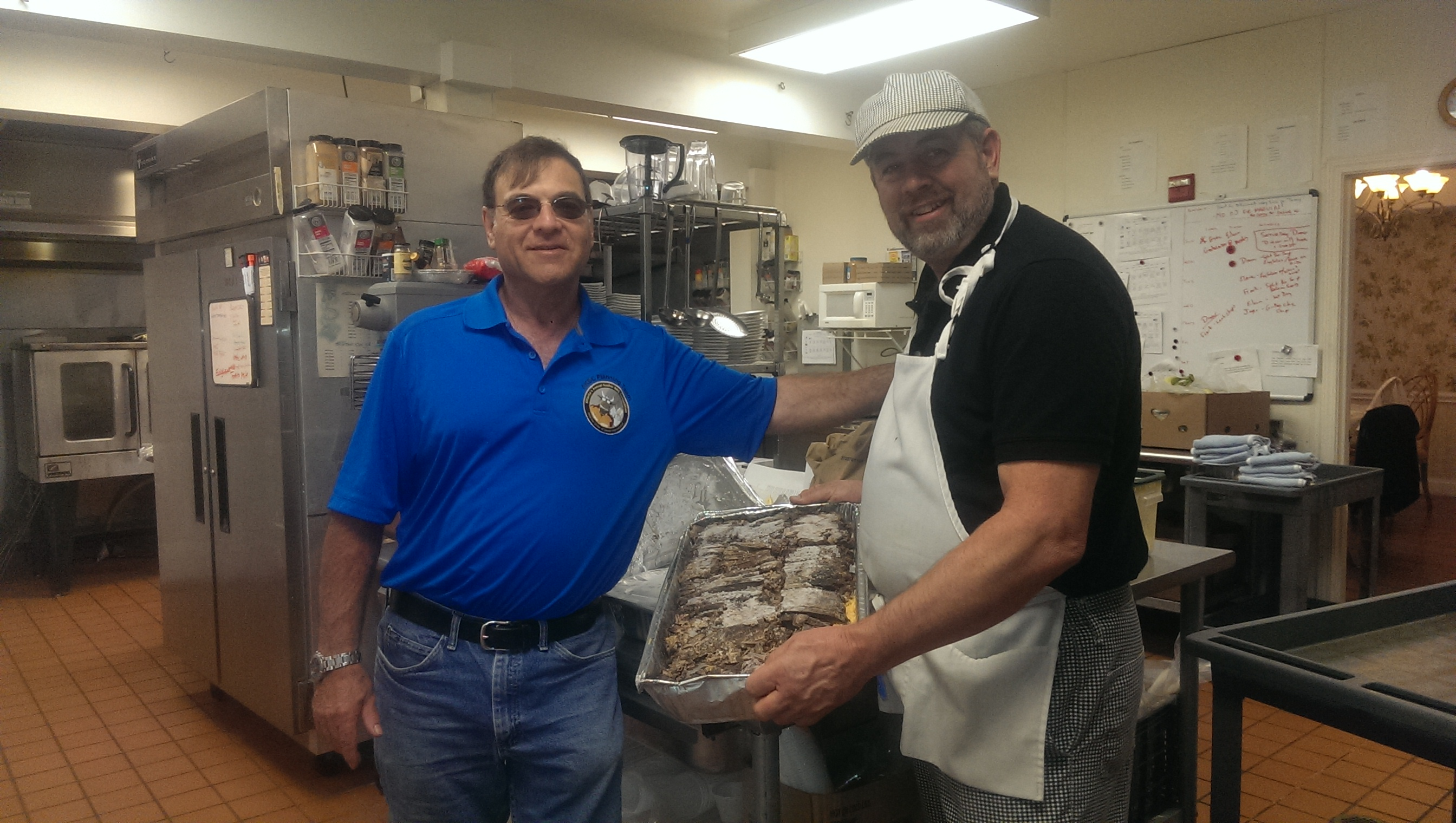 Brisket Donation to the Cohen Home